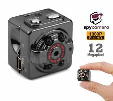 TELECAMERA SPY CAM SQ8 FULL HD MINI DV CUBO CAMERA SPIA NASCOSTA INFRAROSSI
