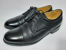 Barker Black Leather Cap Toe Oxford Shoes. Size 8 H.