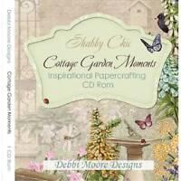 Debbi Moore Shabby Chic Cottage Garden Moments Inspirational CD Rom (320714)