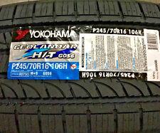 2 New 245 70 16 Yokohama Geolandar H/T G056 Tires