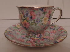 Vintage Royal Winton Chintz Marion Cup & Saucer Teacup 1950's