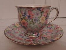 Vintage Royal Winton Chintz Marion Cup & Saucer Teacup 1950's