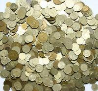 Konvolut Russland Sowjetunion CCCP Münzen 1961-91 Mischung 1 KILOGRAMM 1 Kg LOT