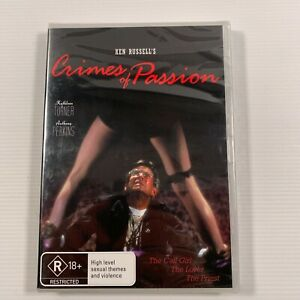 Crimes Of Passion (DVD 2010) 1984 movie Kathleen Turner Anthony Perkins new seal