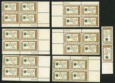 1960 4c US Postage Stamps Scott 1140 Benjamin Franklin American Credo Lot of 26