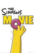 Los Simpsons Movie Teaser dona 91.5 X 61CM Póster Nuevo Mercancía Oficial