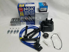 1998-2002 Honda Accord LX EX 2.3L 4cyl Tune Up Kit (NGK V-Power) #4