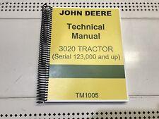 3020 John Deere Technical Service Shop Repair Manual
