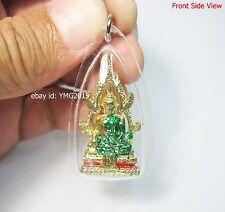 PHRA PHUT CHINNARAJ , Thai Amulet Powerful Pendant for Green Wednesday Birthday