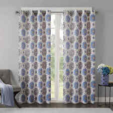 Regency Heights Opus 108-Inch Grommet Top Window Curtain Panel in Indigo