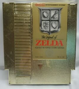 The Legend of Zelda (NES, Nintendo Entertainment System 1985) Cleaned And Tested