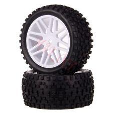 2x 1/10 HSP Off-road Buggy 06102 Rear Wheel Rim Tyre,Tires Insert Sponge 66031