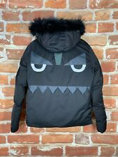 $4k+ Fendi Monster XL Authentic Reversible Down Quilted Arctic Parka Puffer Jack