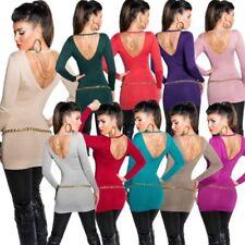 Koucla Patternless V-Neck Jumpers & Cardigans for Women