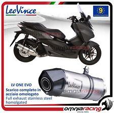 Leovince LV One Pot D'Echappement acier approuve Honda Forza 125 2015>2016