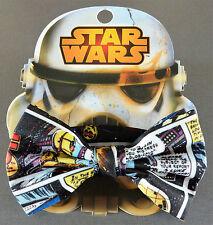 Nuevo Disney Star Wars Caballeros mosca bow tie Stormtrooper geek item única Primark