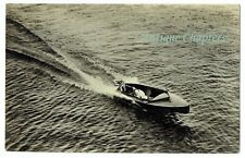 1927 Super Elto Speedster Outboard Motor Whitstable Yacht Club Postcard B539