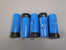 Lot of (5) Sprague Capacitors 2301 39D 200UF 250VDC 8626L -New Old Stock