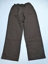 Blair Womens Size 14 Brown Tummy Control Elastic Waist Pants New