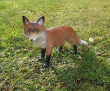Fuchs Figur Rotfuchs stehend Tierfigur Gartendeko Dekofigur lebensecht Outdoor