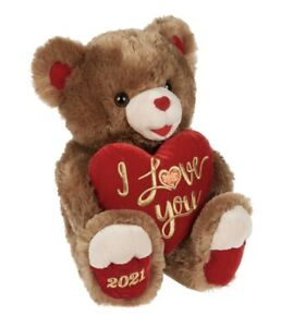 Way To Celebrate Valentine's Day 2021, I Love You, Teddy Bear, 19""
