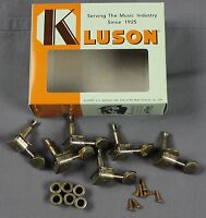 MJT Official Vintage style Kluson Tuners Tuning Keys Aged by Mark Jenny