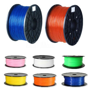Colors Glow In The Dark 10m 3D Printer Filament 1.75mm PLA For MakerBot