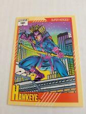 Hawkeye #20 - 1991 Marvel Universe Series 2 - Free Bonus Card