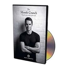 MATT ROBERTS - THE MONTH CRUNCH EXERCISE DVD - TRANSFORM YOUR SHAPE IN 4 WEEKS