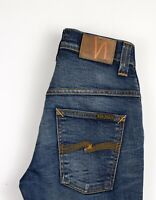 NUDIE JEANS Hommes Mince Finn Slim Jeans Extensible Taille W29 L26 ATZ886