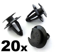 20x VW Plastic Interior Trim Clips for Door Card Mouldings Panels & Boot Linings