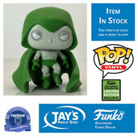 Funko Pop DC Heroes The Spectre 2021 ECCC Shared Exclusive PopShield In Stock