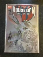 HOUSE OF M #1 (2005) DIRECTOR'S CUT EDITION Special Edition First Print