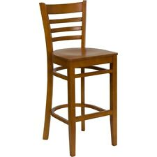 Flash Furniture Wood Restaurant Bar Stool, Cherry - XU-DGW0005BARLAD-CHY-GG