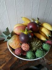 Faux, Artificial, Life Size Fruit/Tropical Fruit For Decoration 20 pieces