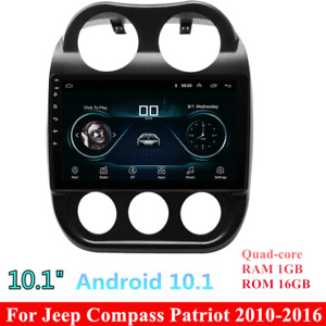 Android 10.1 Car Radio GPS Navi Stereo Player For Jeep Patriot Compass 2010-2016