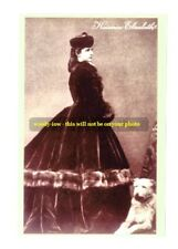 mm260 - Empress Elisabeth - Sissy- of Austria?Hungary & dog - photograph 6x4
