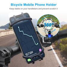 Universal 360° Bicycle Motor Bike MTB Handlebar Mount Mobile Phone Holder GPS