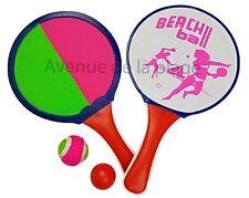 Raquettes de plage scratch, beach ball, jeux de plage, jouet jardin neuf