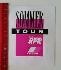 Aufkleber/Sticker: Sommer Tour - Radio RPR - Zender (2002173)