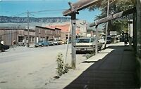Old Chrome MT Postcard C833 Historic Virginia City Mont Old Cars Street View