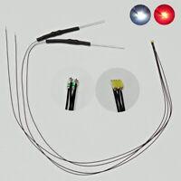 S596-10 Piece LED ms4 Socket Socket Green 12-22v Märklin 600020 Locomotives Signals