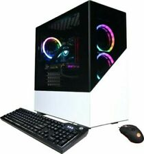 New CyberPowerPC Desktop PC Computer SLC7600BST Ryzen 7 1tb SSD 16gb RAM 5700 XT