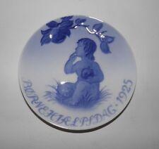 "Royal Copenhagen Children's Help Day 5"" Plate - 1925"