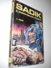 SADIK N. 6 il nuovo giallo a fumetti !!! Ristampa Edizione Alhambra 1971