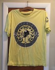 """Men's Size L Silver Star Casting Company Yellow T-Shirt Silva """"The Spider"""""""