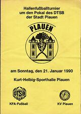 1990 HT Plauen, Wismut Gera, Bayern Hof, Fritz-Heckert Karl-Marx-Stadt, Jena ...