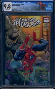 Amazing Spider-Man 1 CGC 9.8 Amazing Spider-Man #802 1st appearance of Kindred.
