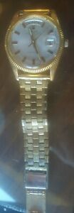 Vintage Ricoh Watch Dynamic Wide Automatic Day and Date