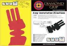 "NEW! Red - GLOCK pistol Grip-Tape ""DIAMOND GRIP"" Models 17 22 34 21 26 29 30SF"